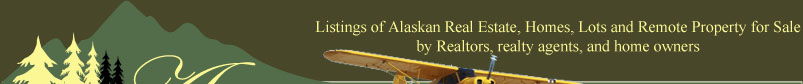 Alaska real estate, homes and land