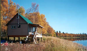 Alaska Cabin on the Kenai
